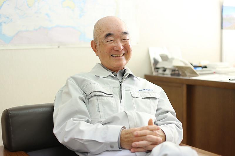 新宮港埠頭株式会社 代表取締役 小池㬎二